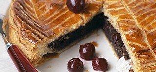 GALETTE DES ROIS CHOCOLAT CERISES dans CUISINE GOURMANDE galetteroischococerises