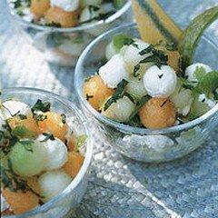 SALADE DE MELONS dans CUISINE LEGERE salademelons