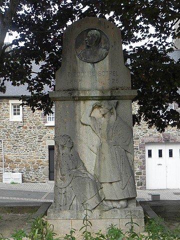 MONUMENT THEODORE BOTREL A PAIMPOL (22) dans LA BRETAGNE BINIC-1-792