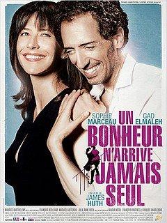 UN BONHEUR N'ARRIVE JAMAIS SEUL dans CINEMA : Les films que nous avons moins aimés... unbonheur