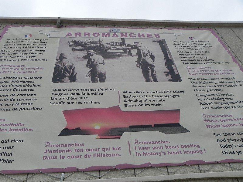 ARROMANCHES (14) dans RENCONTRES AU HASARD DE NOS BALADES BINIC-2-672