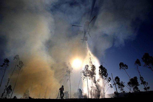 INCENDIE dans 24 HEURES EN IMAGES feu-