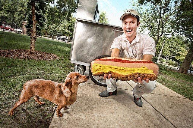 CECI EST UN HOT-DOG dans INSOLITE hotdog