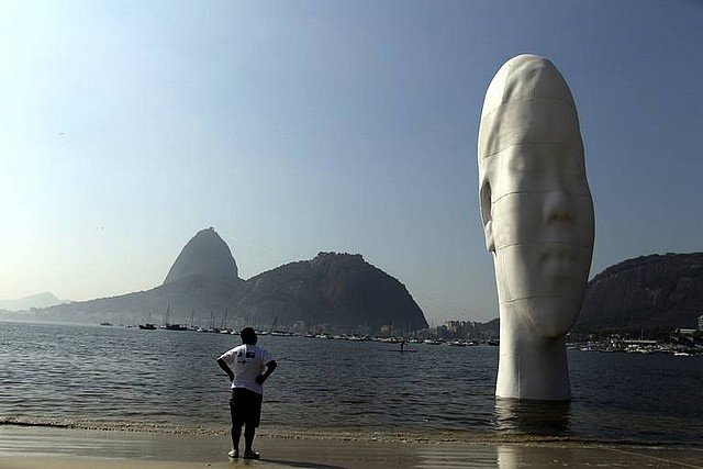 AWILDA dans 24 HEURES EN IMAGES sculpture