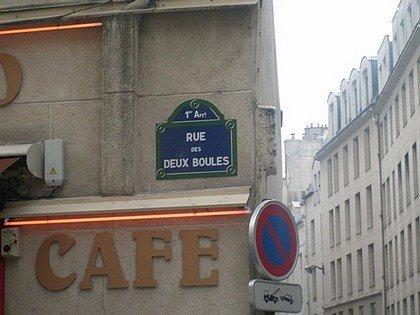 NOM DE RUE INSOLITE : PARIS (ILE DE FRANCE) dans INSOLITE deuxboules