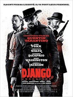 DJANGO UNCHAINED dans CINEMA : les films que nous avons aimés... django