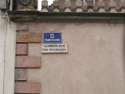NOM DE RUE INSOLITE : SELESTAT (BAS-RHIN) dans INSOLITE franciscains