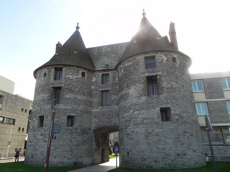 LA PORTE DES TOURELLES A DIEPPE (76) dans RENCONTRES AU HASARD DE NOS BALADES normandie-351