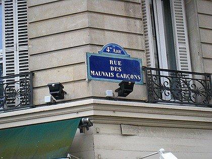 NOM DE RUE INSOLITE : PARIS (ILE DE FRANCE) dans INSOLITE paris