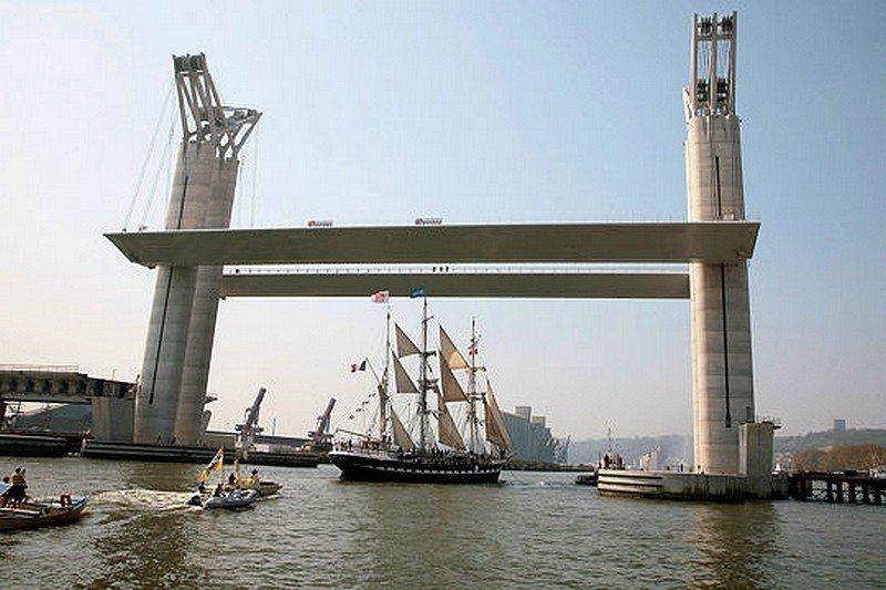 LE PONT-LEVANT DE ROUEN dans LES PLUS GRANDS PONTS DU MONDE pont14