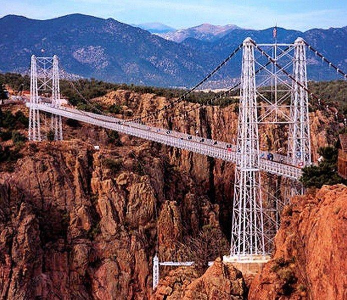 LE ROYAL GORGE BRIDGE dans LES PLUS GRANDS PONTS DU MONDE pont19