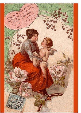 CARTES DE SAINT-VALENTIN dans CARTES POSTALS ANCIENNES valentin