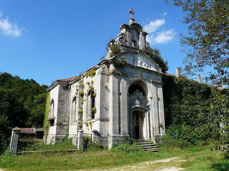 ABBAYE PREMONTREE NOTRE-DAME DE L'ETANCHE A LAMORVILLE (55) dans CHAPELLES, EGLISES, CATHEDRALES abbaye1