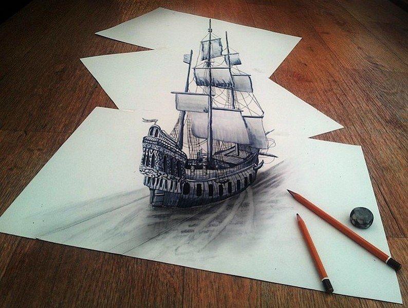 DES DESSINS AU CRAYON EN RELIEF dans ART dessin