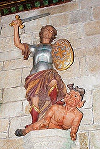 LE DIABLE DU JUCH 54 (29) dans CHAPELLES, EGLISES, CATHEDRALES diable