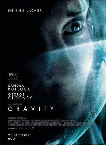 GRAVITY dans CINEMA : les films que nous avons aimés... gravity